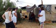 Conocemos la situación de los asentamientos de Lepe y Lucena del Puerto tras los últimos incendios