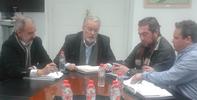 REUNION DEL DEFENSOR CON EXTRABAJADORES PREJUBILADOS DE BOLIDEN