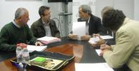 JUEVES, 18 DE OCTUBRE. 11 Horas. Reunión con trabajadores de Sevilla Global.