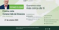 Visita de la Oficina de Información del dPA al Alto Almanzora