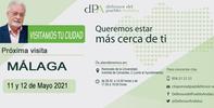 La Oficina de Atención ciudadana del Defensor se desplaza a la comarca de Antequera y a Málaga los días 10, 11 y 12 de mayo
