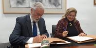 El Defensor del Pueblo Andaluz y Al-Andalus firman un convenio para la defensa de los derechos de las personas consumidoras