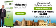 La Oficina de Atención Ciudadana se desplaza a La Janda (Cádiz) los días 6, 7 y 8 de junio