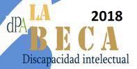 Beca 2018 destinada a persona con discapacidad psíquica, del tipo discapacidad intelectual