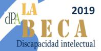 Beca 2019 destinada a persona con discapacidad psíquica, del tipo discapacidad intelectual