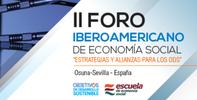 "El defensor imparte la ponencia central sobre ""Inclusión Social. Economía social en Andalucía e Iberoamérica"". Osuna (Sevilla)"