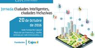 Jornada ciudades inteligentes, ciudades inclusivas