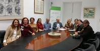 """Reunión con representantes del sindicato USTEA y del colectivo de monitoras escolares despedidas del """"Plan de Choque"""""""