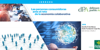 Jornada: Las personas consumidoras ante el reto de la economía colaborativa