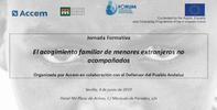Taller formativo sobre el acogimiento familiar de menores no acompañados. Sevilla