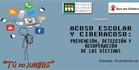 """Jornada sobre acoso escolar y ciberacoso: prevención, detección y recuperación de las víctimas """"Tu no juegas"""""""