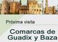 Visita de la Oficina de Información del dPA a las comarcas de Guadix y Baza (Granada)