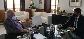 El Defensor del Pueblo andaluz establece con el vicepresidente de la Junta sesiones de trabajo periódicas para coordinación e intercambio de información