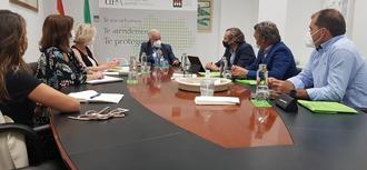 El Defensor se reúne con Asociacion Española de Promotores Publicos de Vivienda y Suelo (AVS) en Andalucía