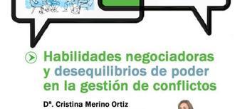 El Defensor del Pueblo andaluz analiza las habilidades en negociación y los desequilibrios de poder en la segunda sesión de los 'Diálogos de Mediación' (#Mediación dPA)