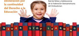 Declaración por la continuidad del Derecho a la Educación
