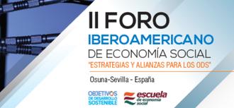 El defensor imparte la ponencia central sobre Inclusión Social. Economía social en Andalucía e Iberoamérica. Osuna (Sevilla)