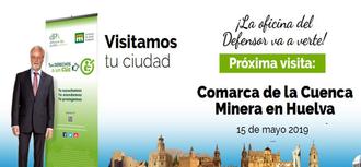 La Oficina de Atención Ciudadana se desplaza a la Cuenca Minera de Huelva este miércoles, 15 de mayo, para atender a la ciudanía