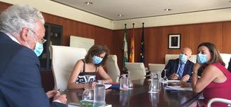 Reunión con el consejero andaluz de Educación para conocer las medidas programadas para la vuelta a las aulas