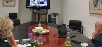 Sesión de trabajo con el Instituto Internacional del Ombudsman
