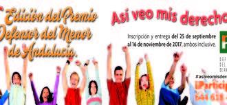 Ganadores X Edición Premios del Defensor del Menor de Andalucía