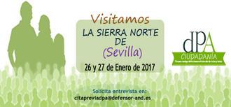 Visita a la Sierra Norte de Sevilla los días 26 y 27 de enero
