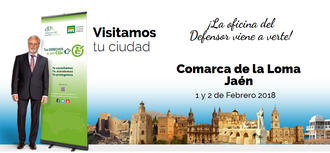 La oficina de atención ciudadana del Defensor del Pueblo Andaluz estuvo en la Comarca de La Loma (Jaén) los días 1 y 2 de febrero de 2018