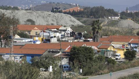 Fotografía del barrio de los Asperones