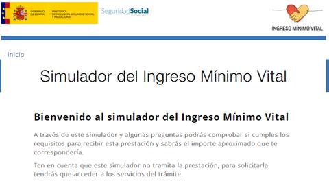 Imagen texto - Simulador del Ingreso Mínimo Vital