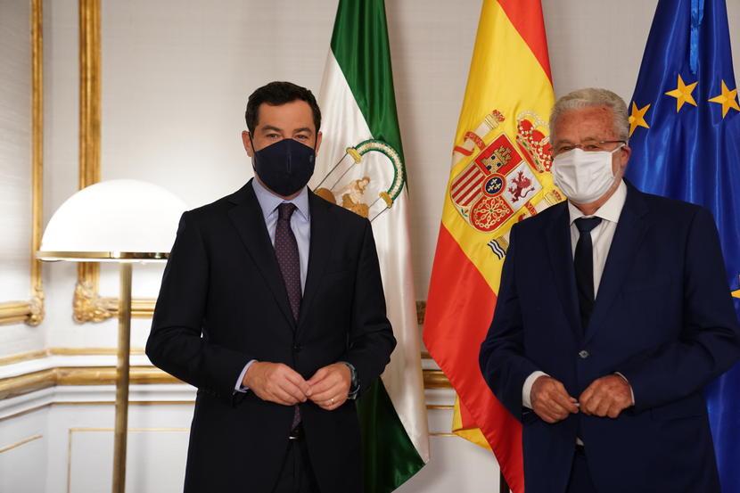 El Defensor del Pueblo andaluz traslada las principales preocupaciones de la ciudadanía al presidente de la Junta de Andalucía