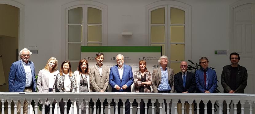 Reunión de coordinación del Defensor del Pueblo andaluz con las Defensorías Universitarias