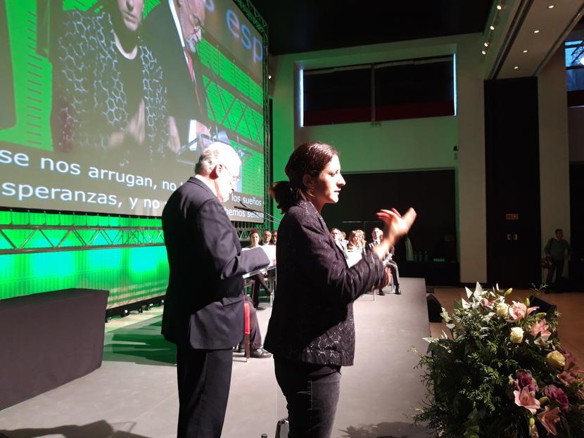 Jesús Maeztu anima a las entidades que trabajan con colectivos desfavorecidos a integrarlos como personas de pleno derecho
