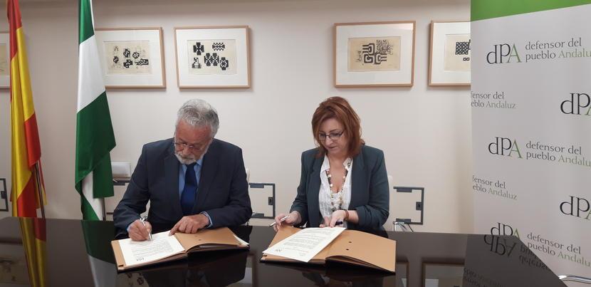 Firmamos un convenio de colaboración con el Grupo Europeo de Magistrados por la Mediación de España