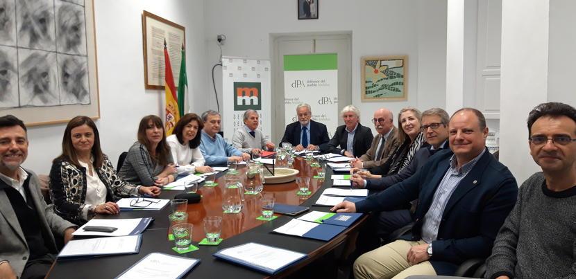 Nos reunimos con los Defensores Universitarios de Andalucía