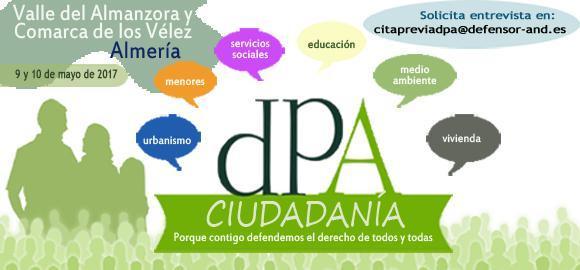 La Oficina de Información del DPA se desplaza al Valle del Almanzora-Los Vélez