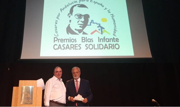 El Defensor del Pueblo Andaluz aboga por priorizar los valores de la solidaridad y erradicar los discursos del resentimiento en la entrega de los Premios Blas Infante de Casares