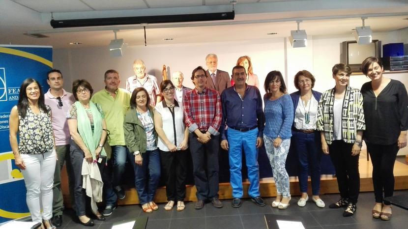 Reunión en FEAPS con representantes de varios centros concertados de Educación Especial
