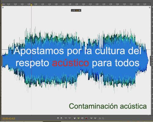 Tolerancia cero con la ilegal contaminación acústica