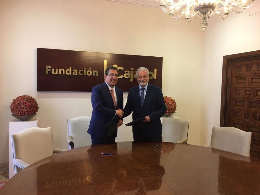 El Defensor del Pueblo Andaluz y el Presidente de la Fundación Cajasol renuevan su convenio de colaboración para la promoción de los derechos sociales