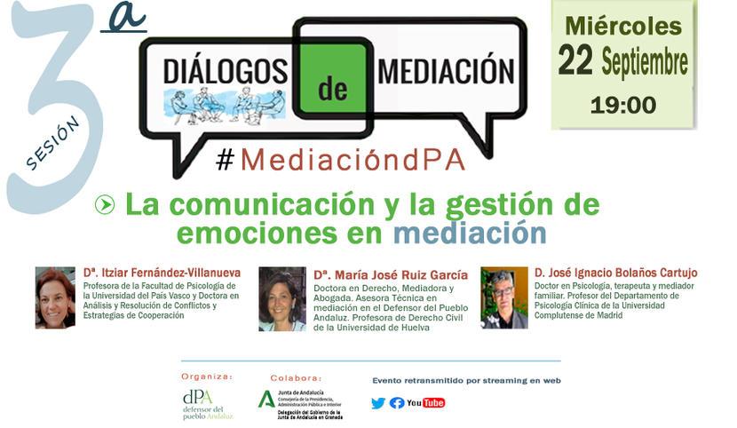 Diálogos de Mediación. Septiembre 2021