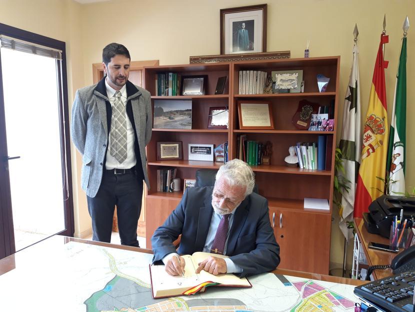 Visita institucional a San José del Valle (Cádiz)