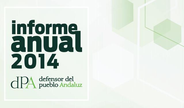 Edición del Informe Anual del Defensor del Pueblo Andaluz