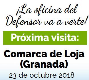10 h: Oficina de Atención ciudadana del dPA en comarca Loja