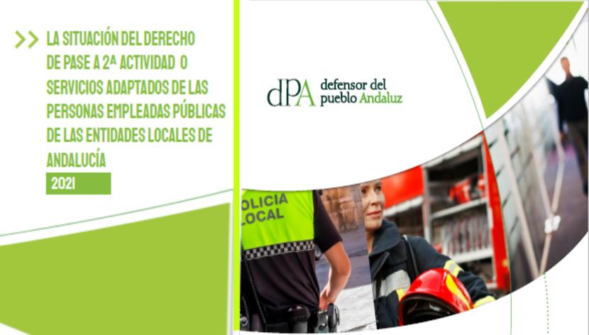 La situación del derecho de pase a 2ª actividad o servicios adaptados de las personas empleadas públicas de las Entidades Locales de Andalucía