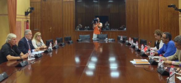Intervención del Defensor en el Grupo de Trabajo sobre Renta Básica del Parlamento