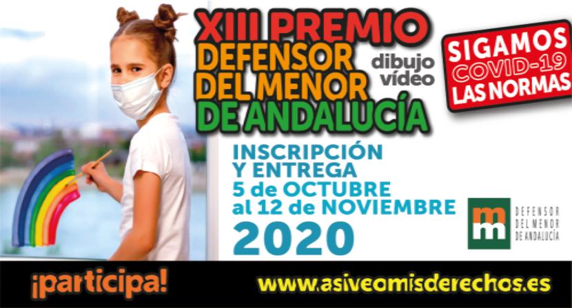 """El Defensor del Menor de Andalucía convoca el XIII Premio """"Así veo mis derechos"""""""