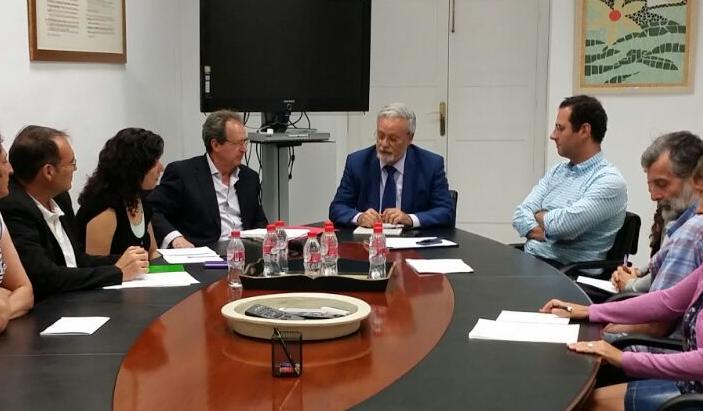 Reunión con la Plataforma andaluza Libre de Transgénicos