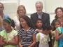 El Defensor recibe a niños saharauis (iniciativa Niños de Vacaciones en Paz 2016)